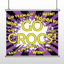 Crocs 42 Hanging Banner