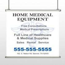 Medical Symbol 99 Hanging Banner