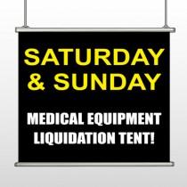 Medic Liquidation 331 Hanging Banner