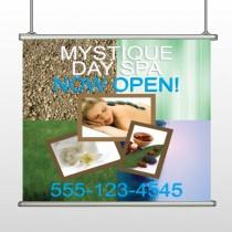 Mystique Spa 492 Hanging Banner