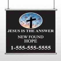 New Found Hope 01 Hanging Banner