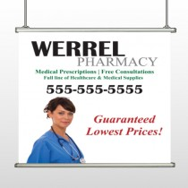 Pharmacist  104 Hanging Banner