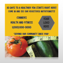Healthy Tomato 404 Custom Banner