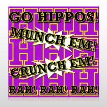Hippos 45 Site Sign