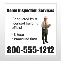 Inspection 360 Custom Sign