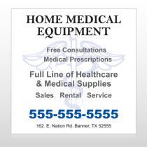 Medical Symbol 99 Custom Banner