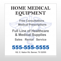 Medical Symbol 99 Site Sign