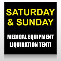 Medic Liquidation 331 Site Sign
