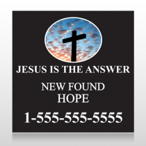 New Found Hope 01 Custom Sign