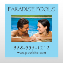 Paradise Pool 529 Floor Decal