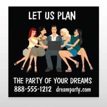 Party Planning 519 Site Sign