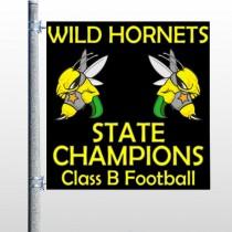 Hornet 44 Pole Banner