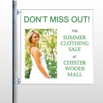 Summer Sale 533 Pole Banner