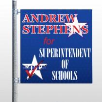 Superintendent 306 Pole Banner
