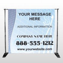 Finance Graph 175 Pocket Banner Stand