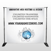 Business Global 438 Pocket Banner Stand