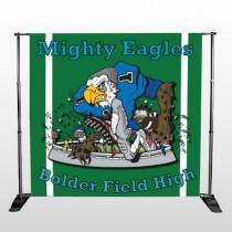Green 50 Pocket Banner Stand