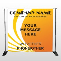 Law 144 Pocket Banner Stand