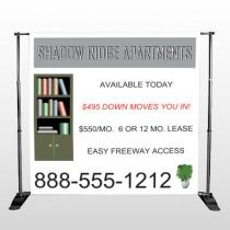 Shelving 530 Pocket Banner Stand