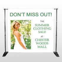 Summer Sale 533 Pocket Banner Stand