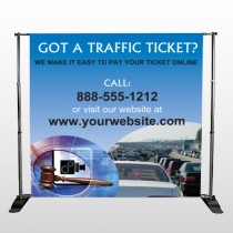 Traffic Cars 151 Pocket Banner Stand