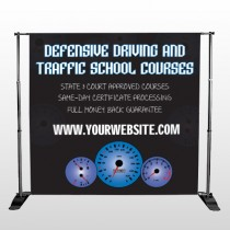Traffic School 152 Pocket Banner Stand