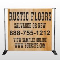 Wood Panel 248 Pocket Banner Stand