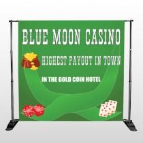 Gold Die Cards 524 Pocket Banner Stand