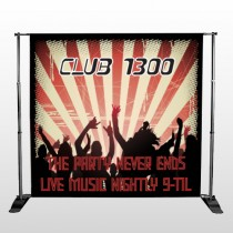 Night Club 523 Pocket Banner Stand