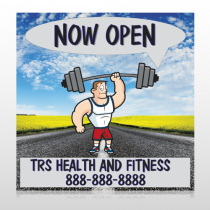 Road Workout 407 Custom Banner