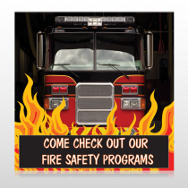 Safety Program 427 Floor Decal
