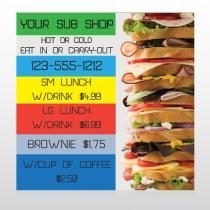Sandwich 375 Site Sign
