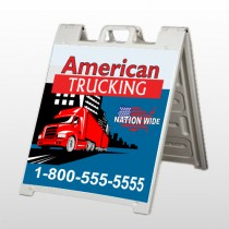 American Truck 295 A Frame Sign