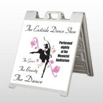Ballet Dance 517 A Frame Sign