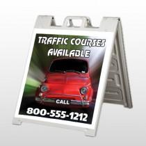 Car Traffic 153 A Frame Sign