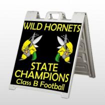Hornet 44 A Frame Sign