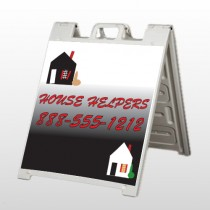 Househelper 245 A Frame  Sign
