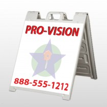 Property Management 363 A Frame Sign