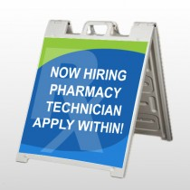 RX Hiring 286 A-Frame Sign