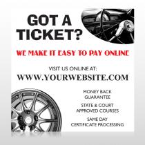 Steering Wheel 154 Banner