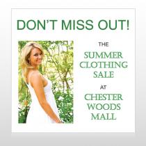 Summer Sale 533 Site Sign
