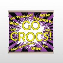 Crocs 42 Track Banner