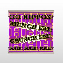 Hippos 45 Track Banner