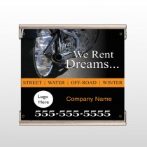 Rent Dreams 109 Track Banner