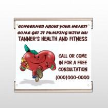 Running Heart 401 Track Banner