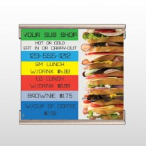 Sandwich 375 Track Banner