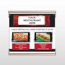 Restaurant Specials 370 Track Banner