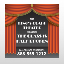 Theatre Curtains 521 Banner