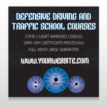 Traffic School 152 Site Sign