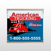 American Truck 295 Track Sign